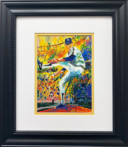 "LeRoy Neiman ""Gaylord Perry"" FRAMED Art Print"
