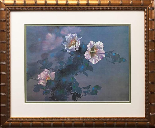 "David Lee ""Lavender Light"" New Custom Framed Art"