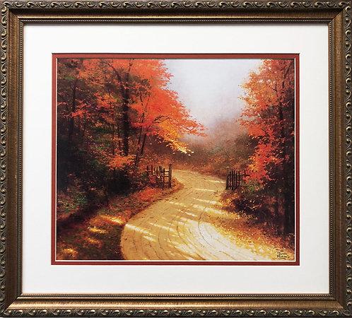 """Thomas Kinkade """"Autumn Lane"""""""