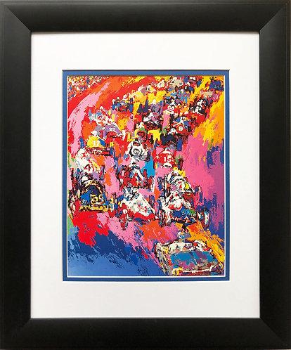 "LeRoy Neiman ""Indy Start '73""  Car Race Racing NEW Art Print Races"
