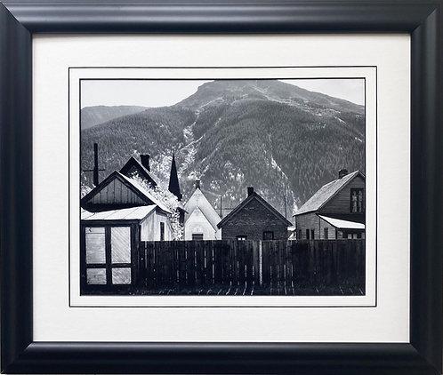 "Ansel Adams ""Silverton, Colorado"" NEWLY Custom Framed NEW ART"