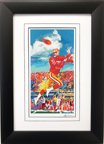 "LeRoy Neiman ""Jerry Rice"""