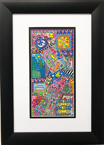 """James Rizzi """"All the Pieces of the City"""""""