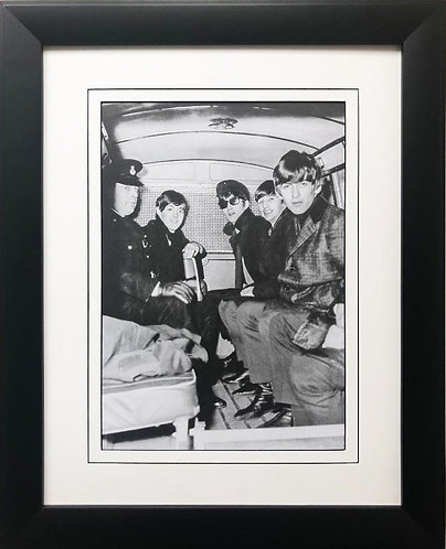 "The Beatles Collection ""Armored Truck Escort"" 1964 Framed Poster"