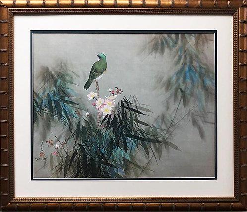 "David Lee ""Spring Song"" New Custom Framed Art"