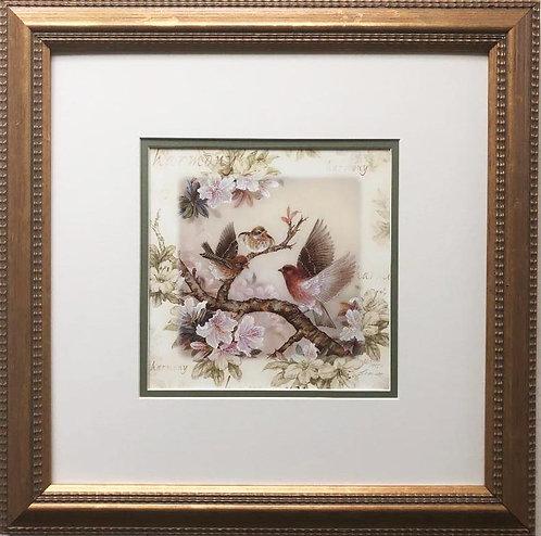 "Lena Liu ""Harmony"" Hand Signed Limited Edition Custom Framed Art"