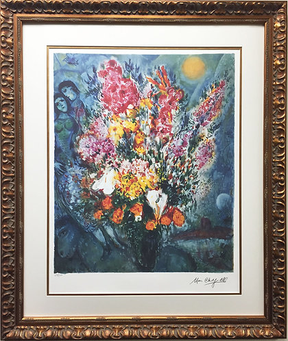 "Marc Chagall - ""Blue Bouquet"""