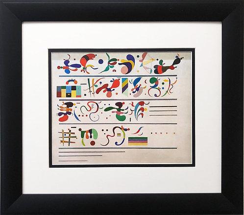 "Wassily Kandinsky ""Succession"""