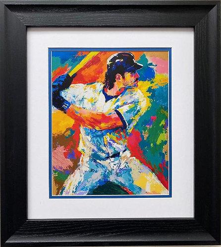 "LeRoy Neiman ""Mike Piazza"" FRAMED New Art"