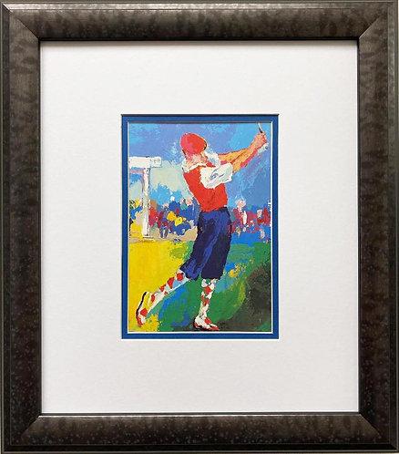 """LeRoy Neiman """"Knickers Payne Stewart"""" FRAMED Art Print"""