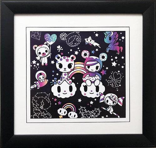 "Tokidoki ""Constellations"" FRAMED ART"