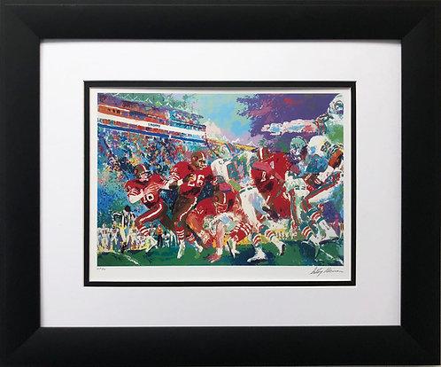 "LeRoy Neiman ""Dolphins vs. 49ers"""