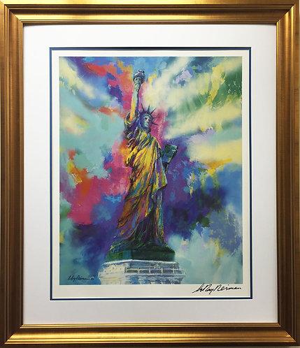 """LeRoy Neiman """"Statue of Liberty"""" (1989)"""