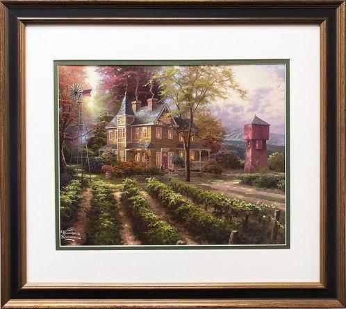 "Thomas Kinkade ""Abundant Harvest"""