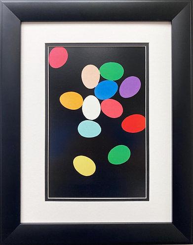 "Andy Warhol ""Eggs"" CUSTOM FRAMED Pop Art"
