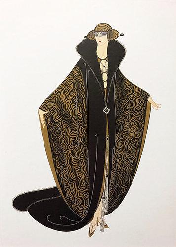 """Erte """"The Golden Cloak"""""""