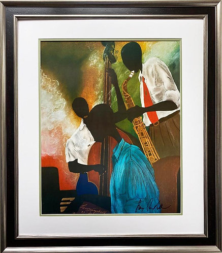 "Leroy Campbell ""Tune Up"" Hand Signed Art"