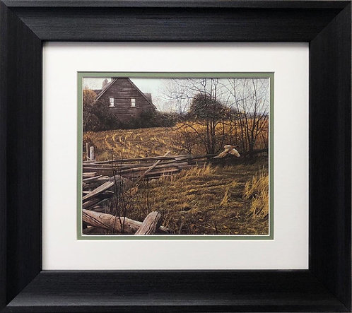 "Robert Bateman ""Pheasants at Dusk"" FRAMED Art"