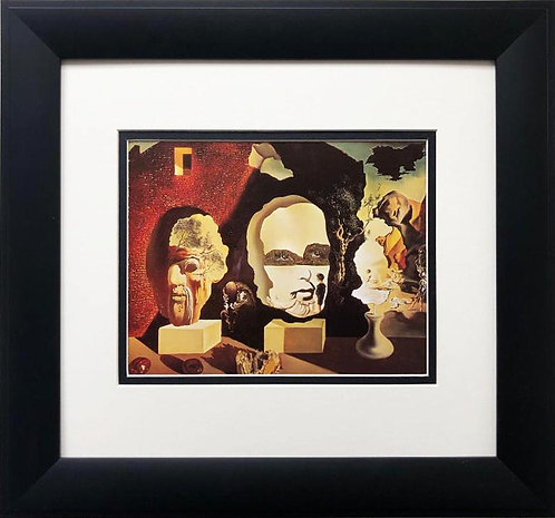 """Salvador Dali """"Old Age, Adolescence, Infancy"""" FRAMED ART"""