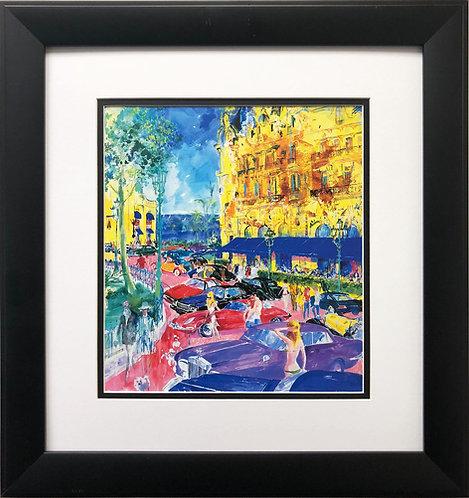 "LeRoy Neiman ""Place du Casino- Monte Carlo"""