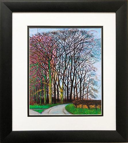 """David Hockney """"Bigger Trees, Nearer Warter"""" Pop NEW Custom FRAMED ART"""