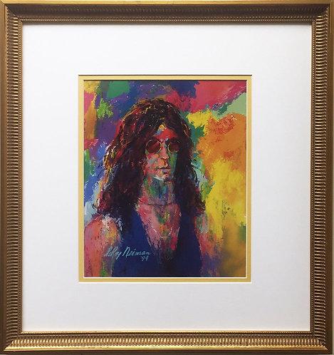 """LeRoy Neiman """"Howard Stern"""" Newly Custom FRAMED Art print -  """"King of All Media"""""""