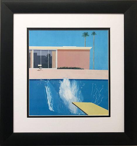 """David Hockney """"A Bigger Splash"""""""