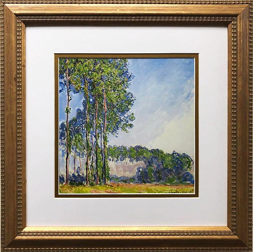 """Monet """"Poplars, 1891"""" Framed Art Print"""