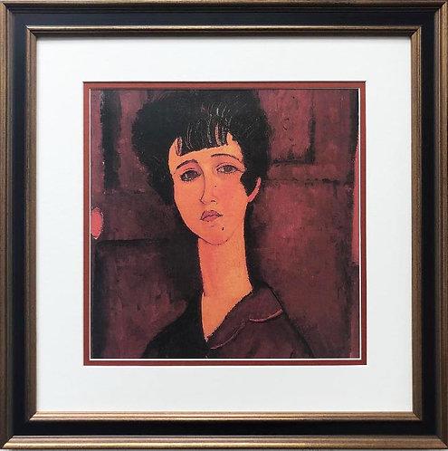 "Amedeo Modigliani ""Victoria"" CUSTOM FRAMED ART"