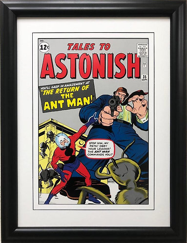 """Marvel """"Tales to Astonish Return of the Ant Man"""" # 135 Framed Comic Book Poster"""
