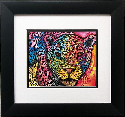 """Dean Russo """"Leopard Spots"""" CUSTOM FRAMED Street Pop"""