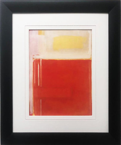 "Mark Rothko ""No. 8"" 1949 FRAMED Art"