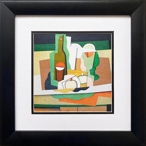 "Georges Valmier ""Still Life on a Table "" 1925 Framed Art Print"