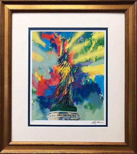 """LeRoy Neiman """"Lady Liberty"""""""