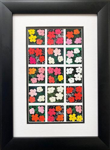 "Andy Warhol ""Flowers (Various)"" NEWLY CUSTOM FRAMED Pop Art"