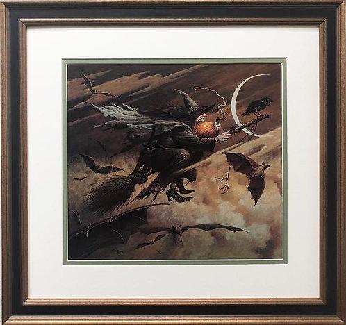"""Charles Wysocki """"Imeralda Jaggers Heppzallilly"""" FRAMED Art"""