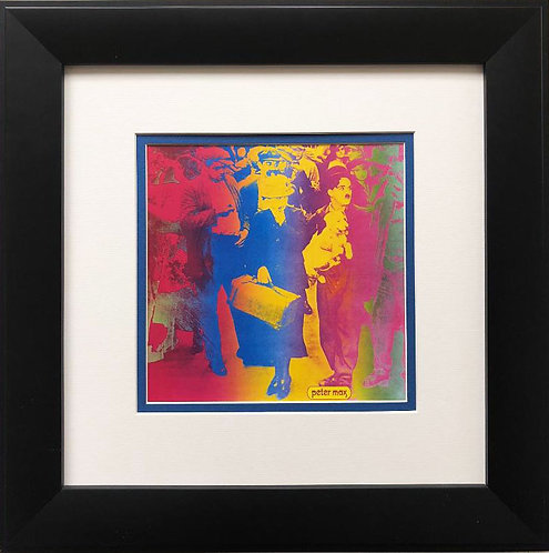 "Peter Max ""Our Gang"" FRAMED Art"