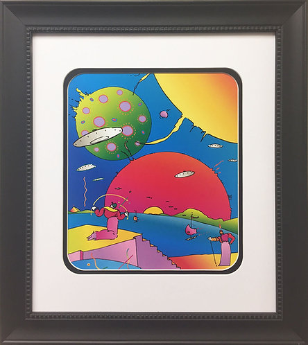 "Peter Max ""Year 2250"" (1996)"