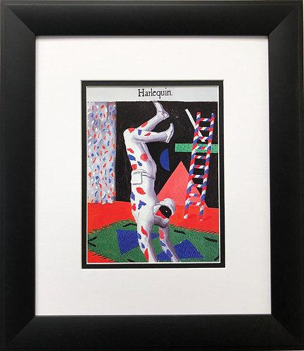 """David Hockney """"Harlequin"""""""
