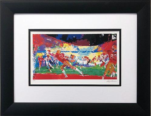 "LeRoy Neiman ""Superbowl- Bengals/49ers Play """