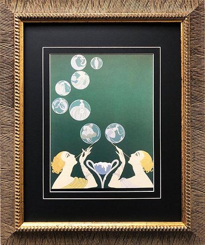 """Erte """"The Bubbles"""""""