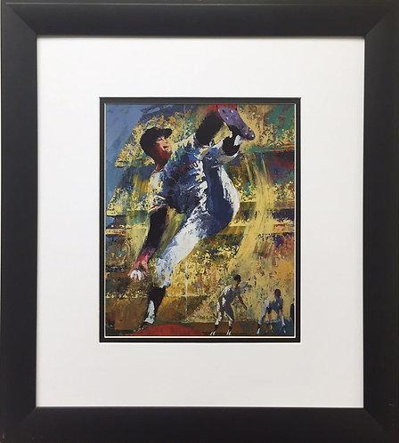 "LeRoy Neiman ""Juan Marichal"" Custom FRAMED ART PRINT San Francisco Giants SF DR"