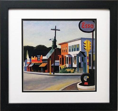 """Edward Hopper """"Portrait of Orleans"""" (Detail) New CUSTOM FRAMED Art"""