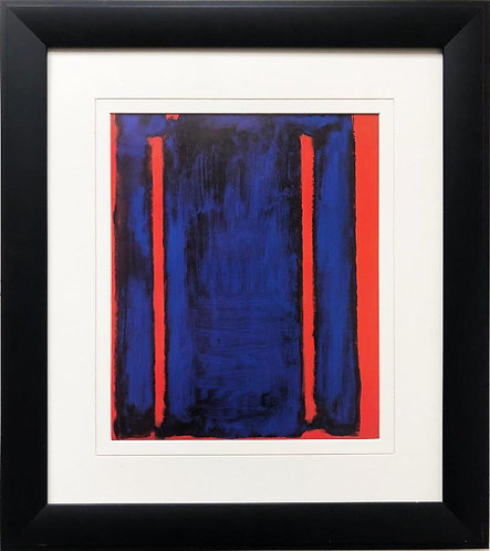 "Mark Rothko ""Untitled-Harvard Mural Sketch"" FRAMED Art"
