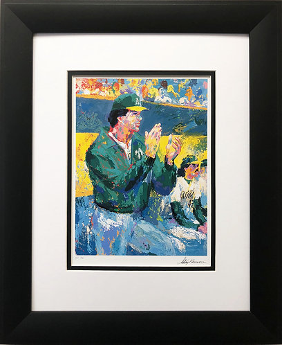 "LeRoy Neiman ""Tony Larussa-Manager of the Year """