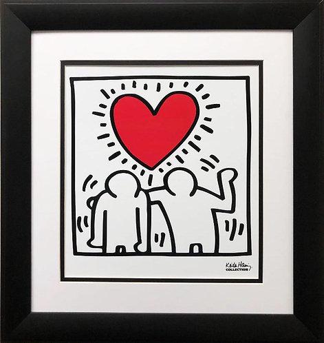 """Keith Haring """"KH03"""" CUSTOM FRAMED Print Art"""
