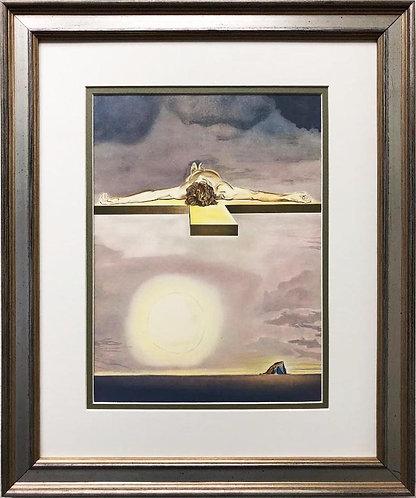 "Salvador Dali ""Christ of Gala"" CUSTOM FRAMED ART"