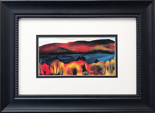 """Georgia O'Keeffe """"Lake George Autumn"""""""