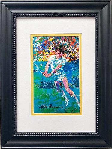 "LeRoy Neiman ""Jimmy Connors"" FRAMED Art Print"
