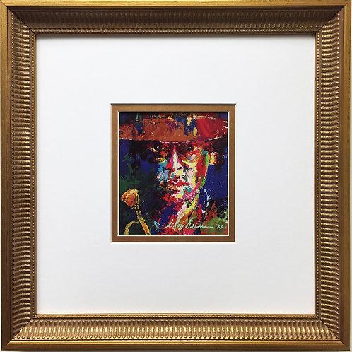 "LeRoy Neiman ""Miles Davis"" Newly CUSTOM FRAMED Art Print JAZZ Trumpeter Festival"